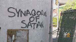 Police Investigating 'Synagogue of Satan' Hate Graffiti In Staten Island [Video]