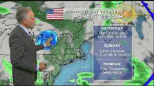 WBZ Midday Forecast For May 24 [Video]