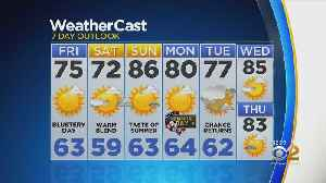 New York Weather: 5/24 Afternoon Forecast [Video]