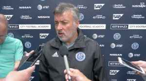 NYCFC's Torrent: Chicago Fire 'is a strong team, specially in Chicago' [Video]