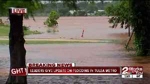 Leaders give update on flooding in Tulsa metro [Video]