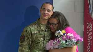 Soldier Surprises Sister at Tennessee High School Graduation Rehearsal [Video]