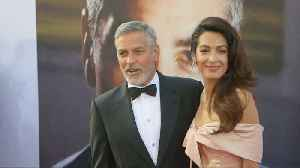 George Clooney concerned about children's safety amid wife's ISIS battle [Video]