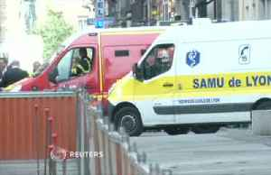 Rescuers, police survey scene of Lyon explosion that injured at least 8 [Video]