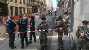 Eight injured in suspected parcel bomb explosion in Lyon, France [Video]