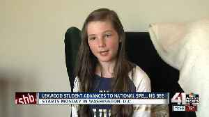 Leawood 7th grader heads to Scripps National Spelling Bee [Video]