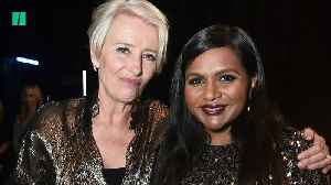 Mindy Kaling, Emma Thompson Discuss Alabama's Abortion Law [Video]