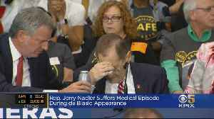 Rep. Jerry Nadler Falls Ill During NYC Event [Video]