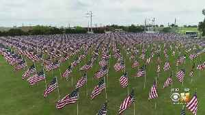 Field Of Flag For Memorial Day Weekend In Granbury [Video]