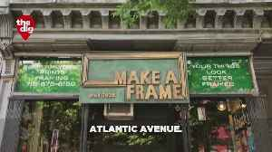 The Dig: Frame Maker In Brooklyn [Video]