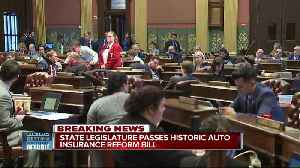 Whitmer, GOP reach auto insurance deal that 'guarantees rate relief' for drivers [Video]