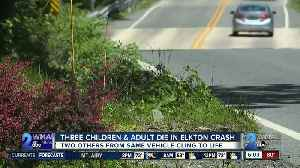 Three children and man killed in Cecil County crash [Video]
