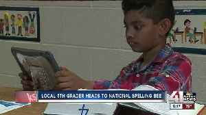 News video: Fourth-grader wins spot in Scripps Spelling Bee in 30 rounds