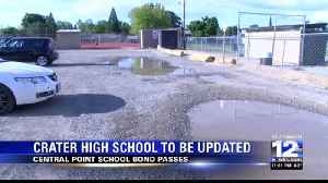 Central Point School Bond to pave Crater High's student parking lot [Video]