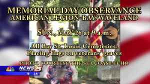 American Legion in Bay Saint Louis to Hold Several Events Over Memorial Day Weekend [Video]