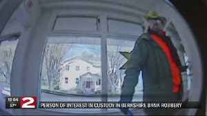 Person of interest in Oriskany Falls bank robbery being questioned [Video]