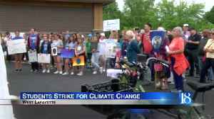 Students strike for climate change [Video]