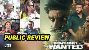 Public Review | India's Most Wanted | Arjun Kapoor embarks deadly mission [Video]