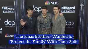 The Jonas Brothers Keep Drama Away From Their Family [Video]