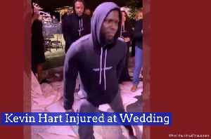 Kevin Hart Dances Too Hard At A Wedding [Video]