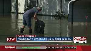 Fort Gibson deals with historic flooding [Video]