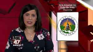 Special city council meeting on June 3 [Video]