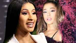 Cardi B SHUTS DOWN New TV Show Rumours! Ariana Grande Calls Out her Fans! [Video]