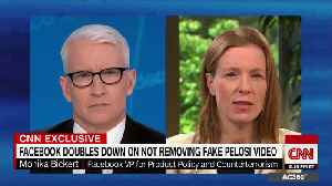 CNN's Cooper tells Facebook how to do news the right way [Video]