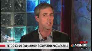 MSNBC host asks Beto to 'play media critic' [Video]