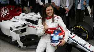 The current career of Formula 1 racer Tatiana Calderon [Video]