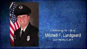 Mitchell Lundgaard's funeral and post-funeral procession [Video]