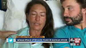 Maui hiker found alive speaks for the first time after rescue [Video]