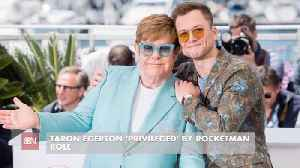 Taron Egerton And Elton John Have Built A Great Friendship [Video]