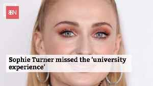 Sophie Turner Wanted To Be In College [Video]
