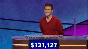 James Holzhauer Over $2 Million Mark With Latest 'Jeopardy!' Win [Video]