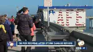 OB Pier Reopens after storm damage repairs [Video]
