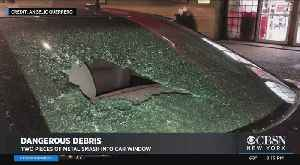 More Debris Falls From Subway Tracks, Smashes Car Window [Video]