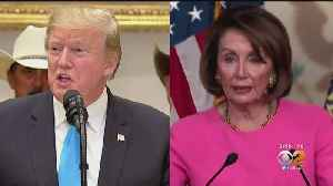 President Trump, Speaker Pelosi Intensify Their War Of Words [Video]