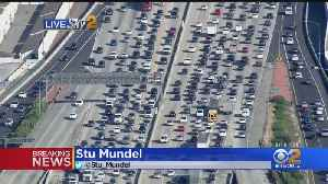 Holiday Traffic Starts Out With A Snarl [Video]