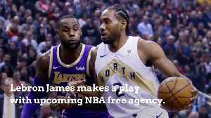 Lebron James Is The Ultimate Lakers Recruiter [Video]