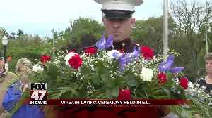 Wreaths laid at local cemetery to honor Memorial Day [Video]