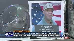 Ellicott City store owners honor hero killed in the flood nearly a year ago [Video]