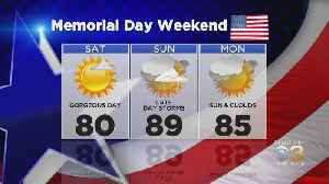 Philadelphia Weather: Memorial Day Weekend Forecast [Video]