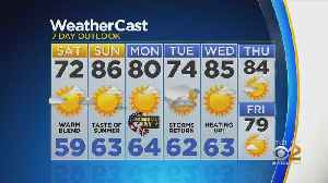 New York Weather: CBS2 5/24 Nightly Forecast at 11PM [Video]