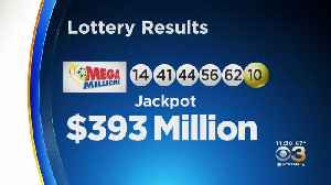 News video: Winning Numbers From $393 Million Mega Million Jackpot