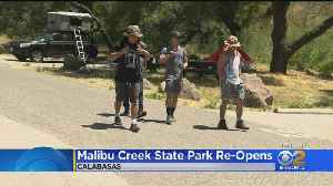 Malibu Creek State Park Reopens Year After Murder Of Dad Camping With His Daughters [Video]