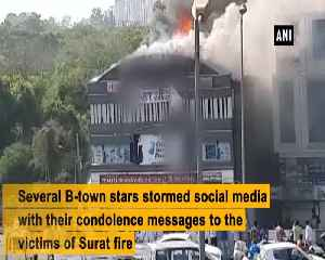 Bollywood celebrities extend condolences for young victims killed in Surat fire [Video]