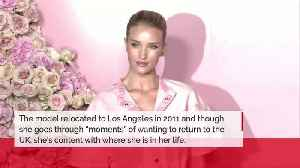 Rosie Huntington-Whiteley has learned to overcome homesickness [Video]