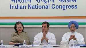 India's Battered Congress Party Closes Ranks After Election Setback