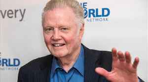 Actor Jon Voight Huge Supporter Of Trump